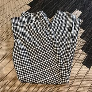 Gingham columnist dress pants